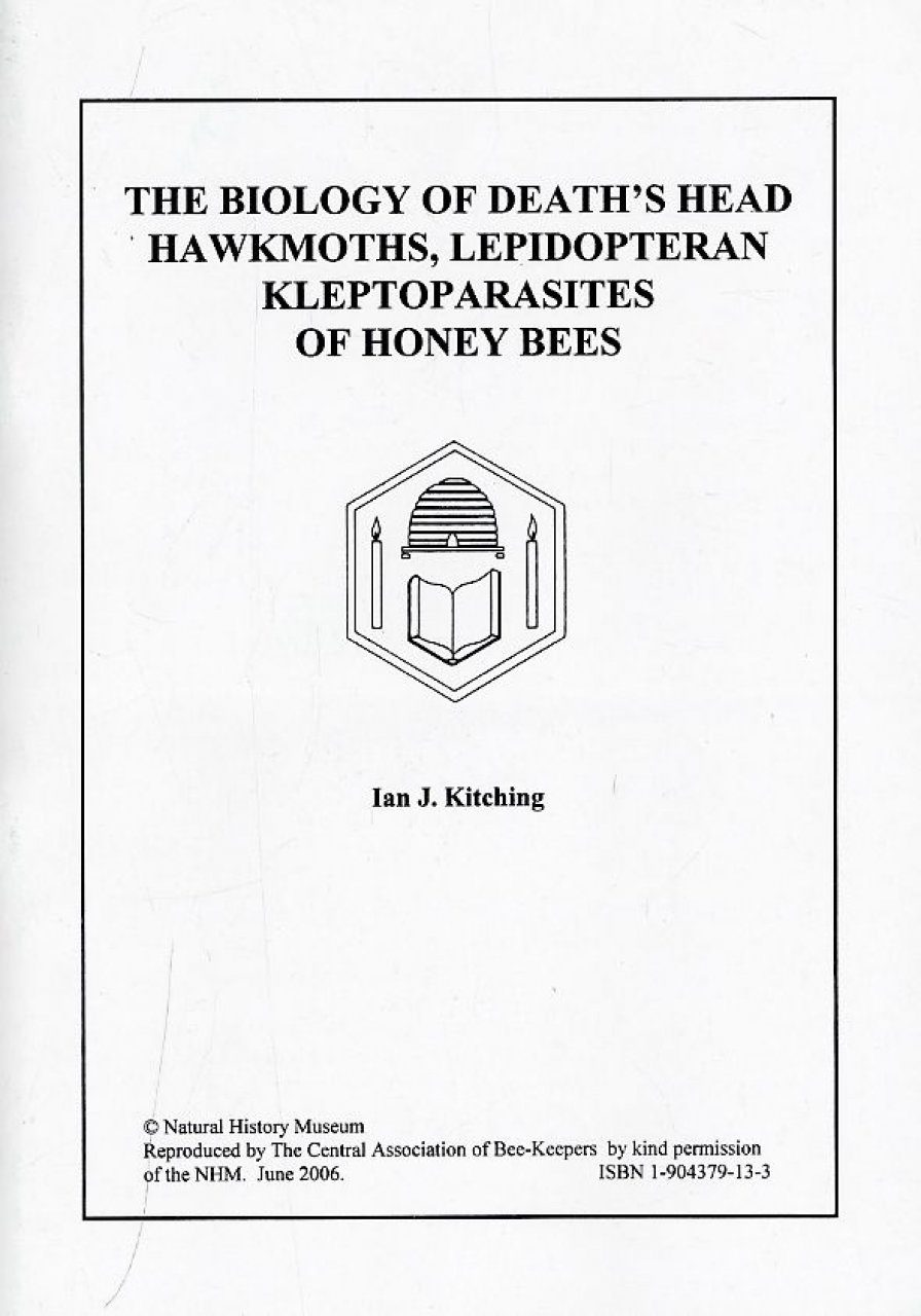 The Biology of Death's Head Hawkmoths, Lepidopteran Kleptoparasites of Honey Bees