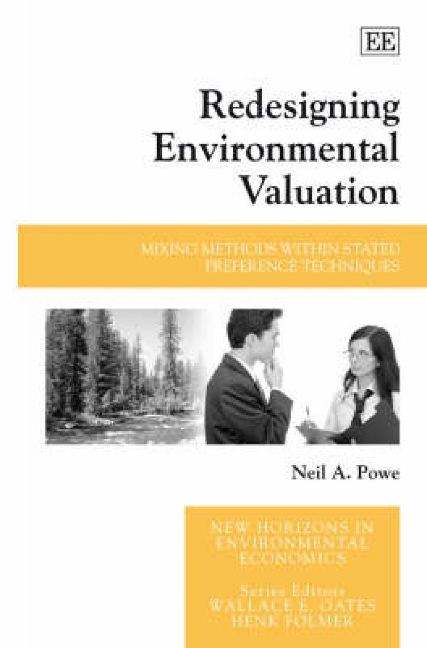 Redesigning Environmental Valuation