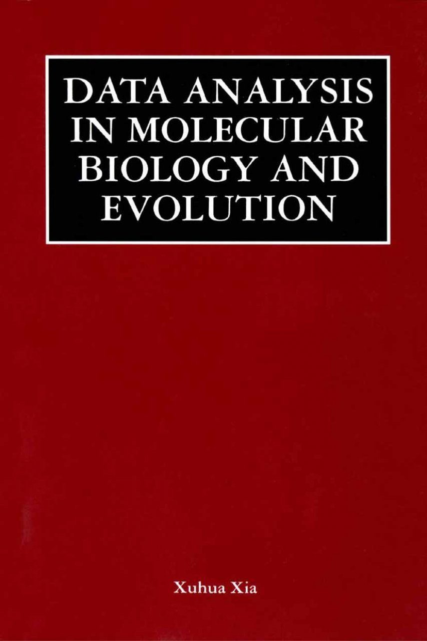 Data Analysis in Molecular Biology and Evolution