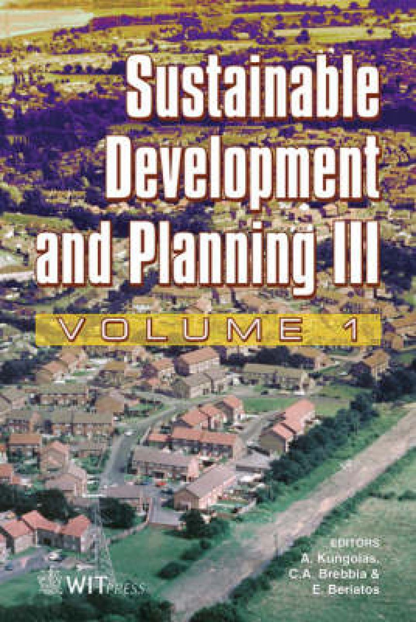 Sustainable Development and Planning III