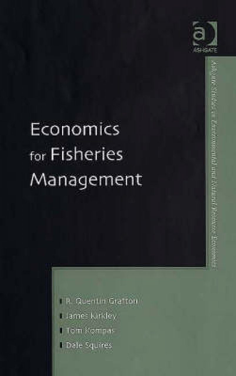 Economics for Fisheries Management