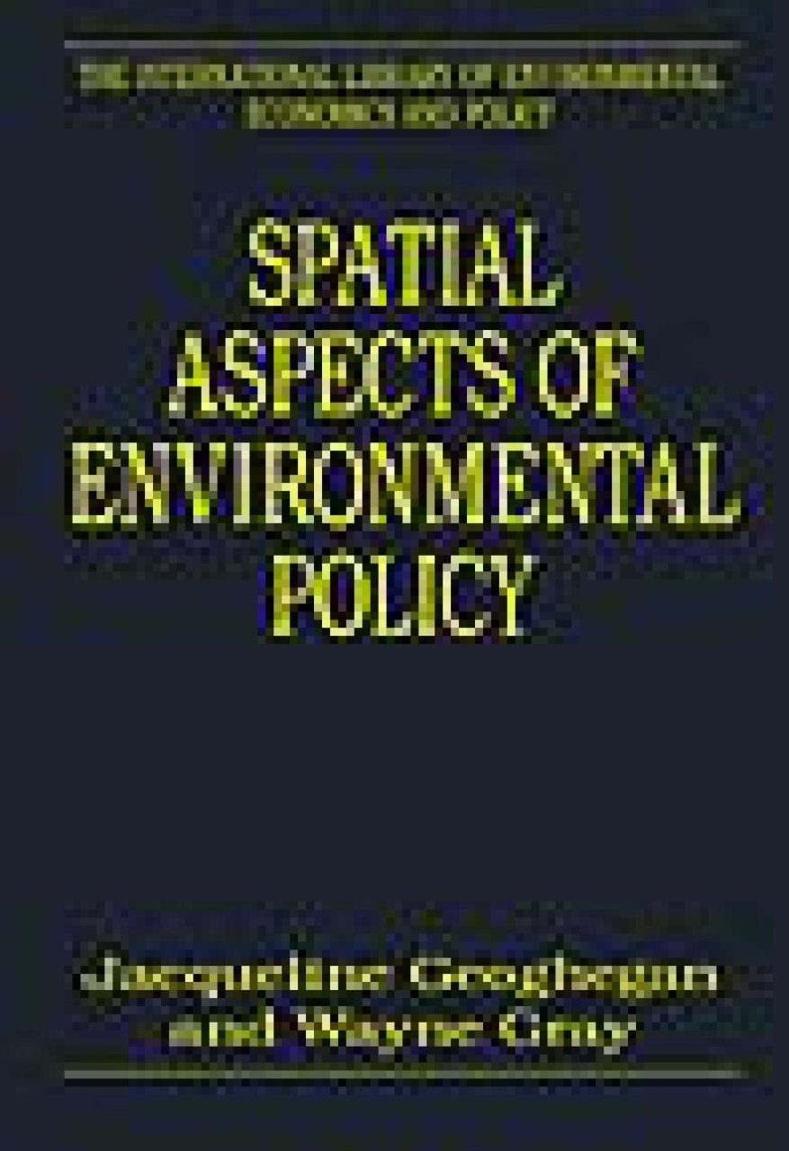 Spatial Aspects of Environmental Policy