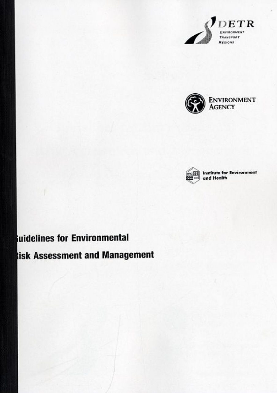 Guidelines for Environmental Risk Assessment and ...