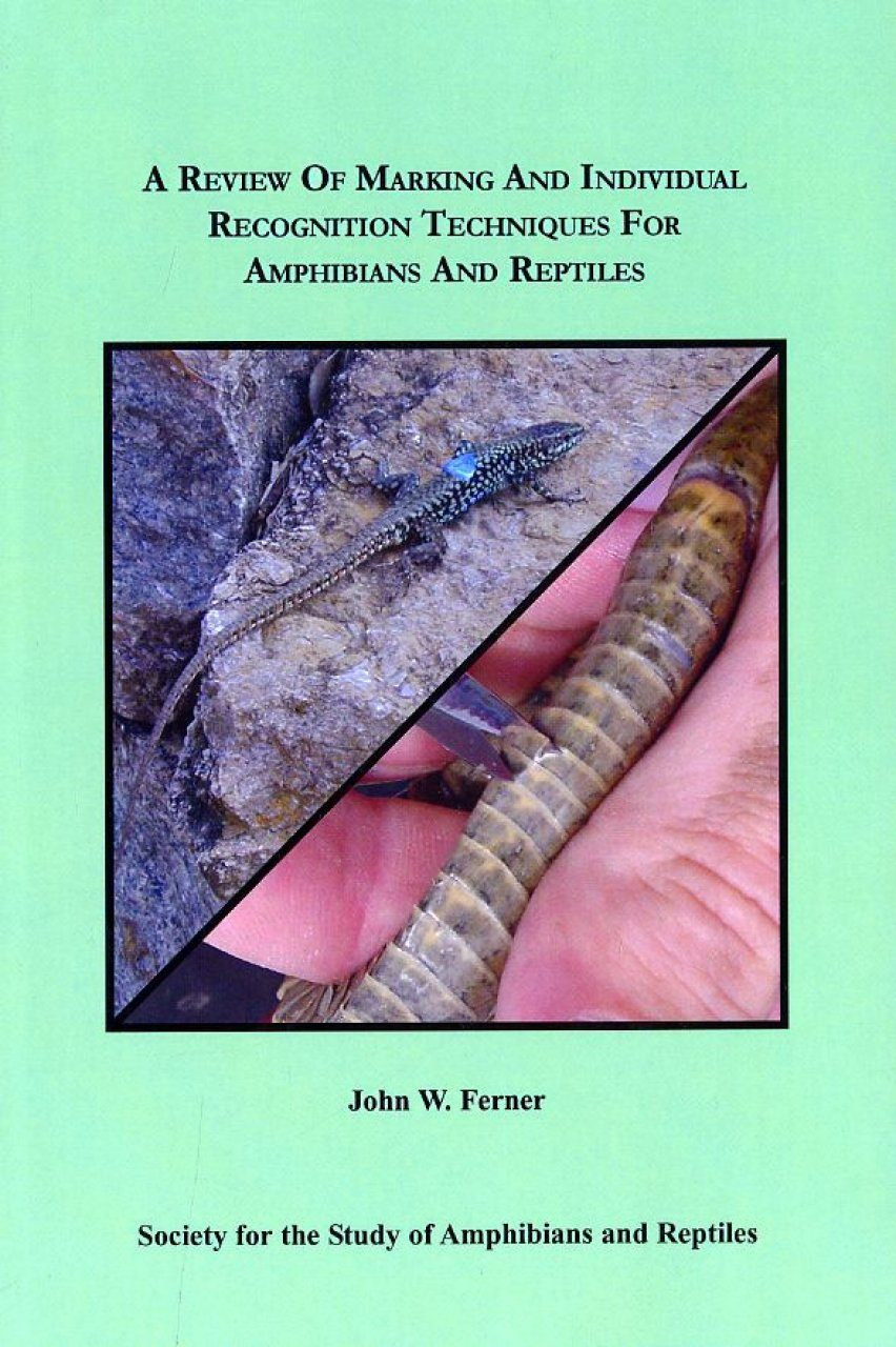 A Review of Marking and Individual Recognition Techniques for Amphibians and Reptiles