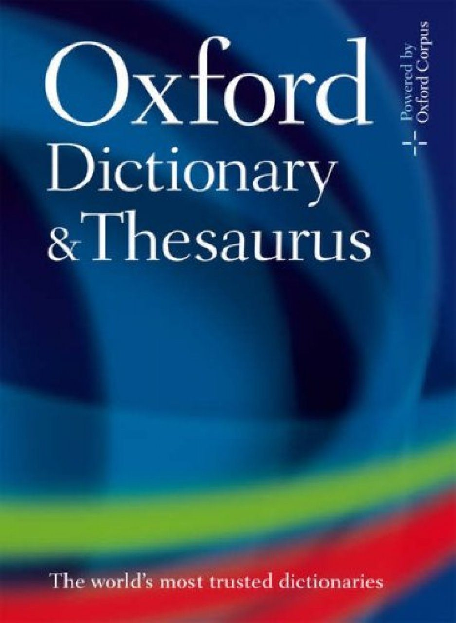 oxford dictionary and thesaurus nhbs academic