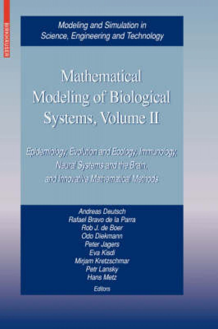 Mathematical Modeling of Biological Systems, Volume II