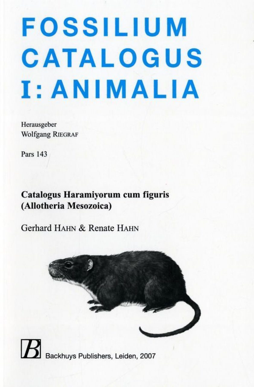 Fossilium Catalogus Animalia, Volume 143 [German]