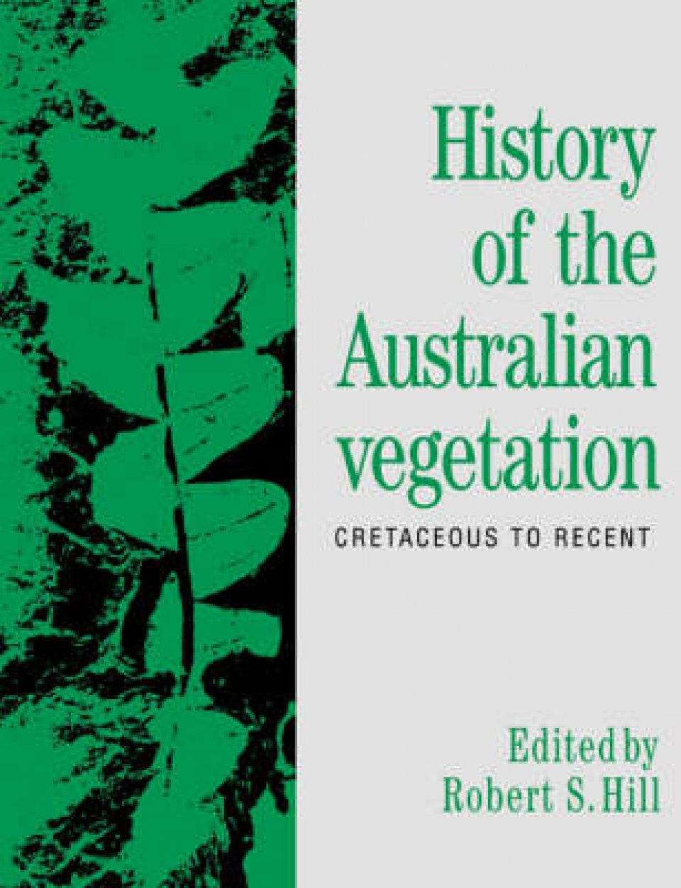 History of the Australian Vegetation