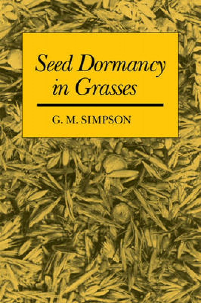 Seed Dormancy in Grasses