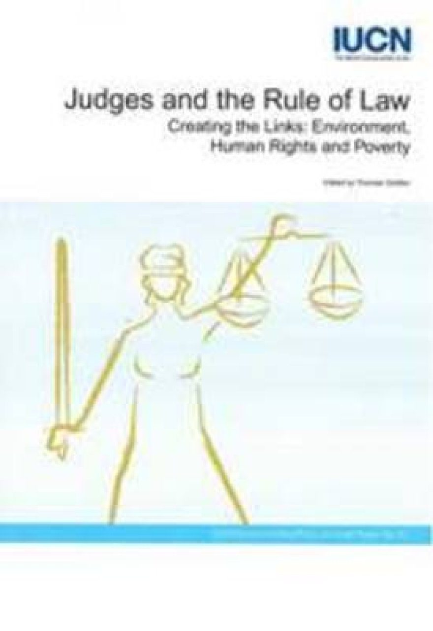 Judges and the Rule of Law
