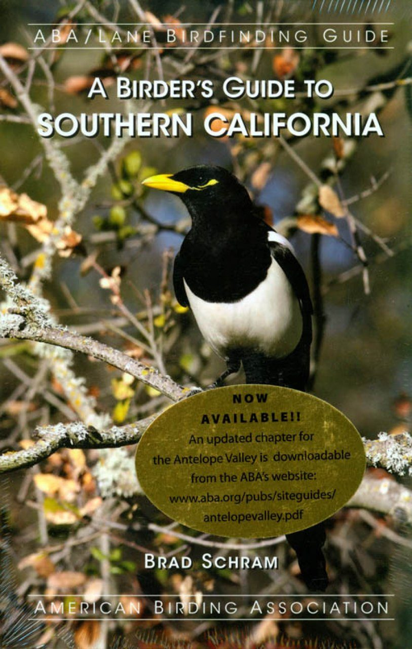 A Birder S Guide To Southern California Nhbs Academic