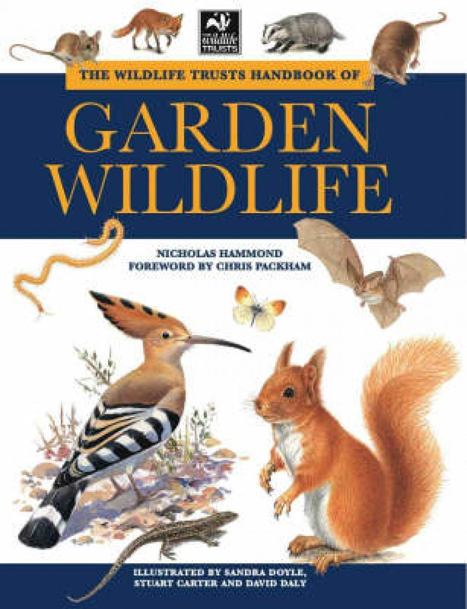 The Wildlife Trust Handbook of Garden Wildlife