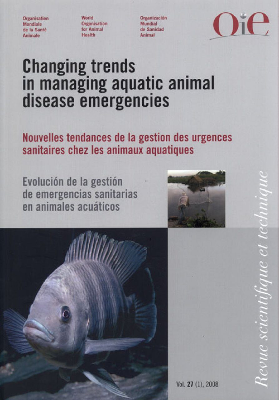 Changing Trends in Managing Aquatic Animal Disease Emergencies