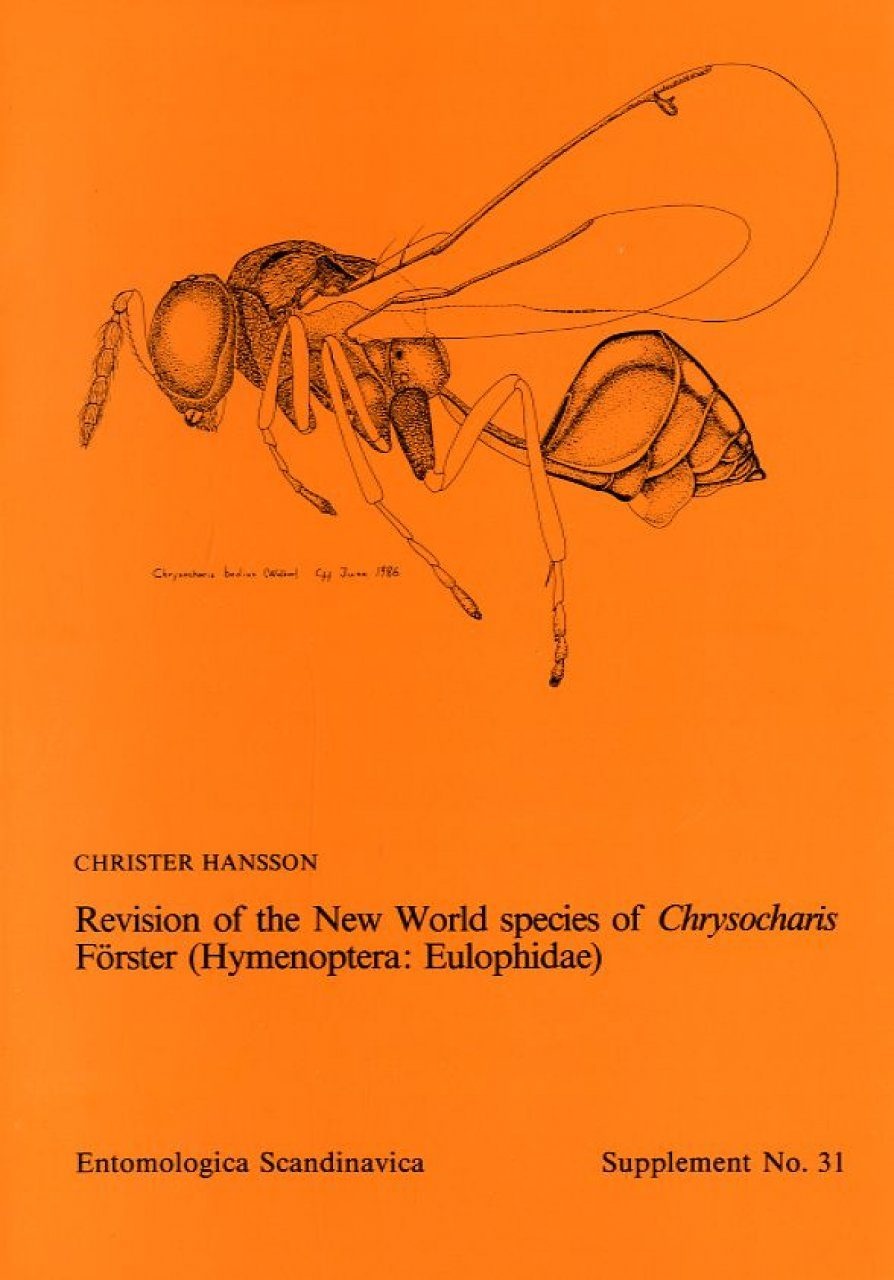 Revision of the New World species of Chrysocharis Förster (Hymenoptera: Eulophidae)