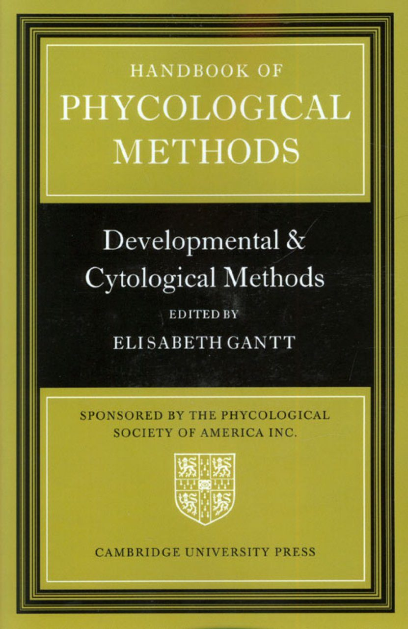 Handbook of Phycological Methods, Volume 3