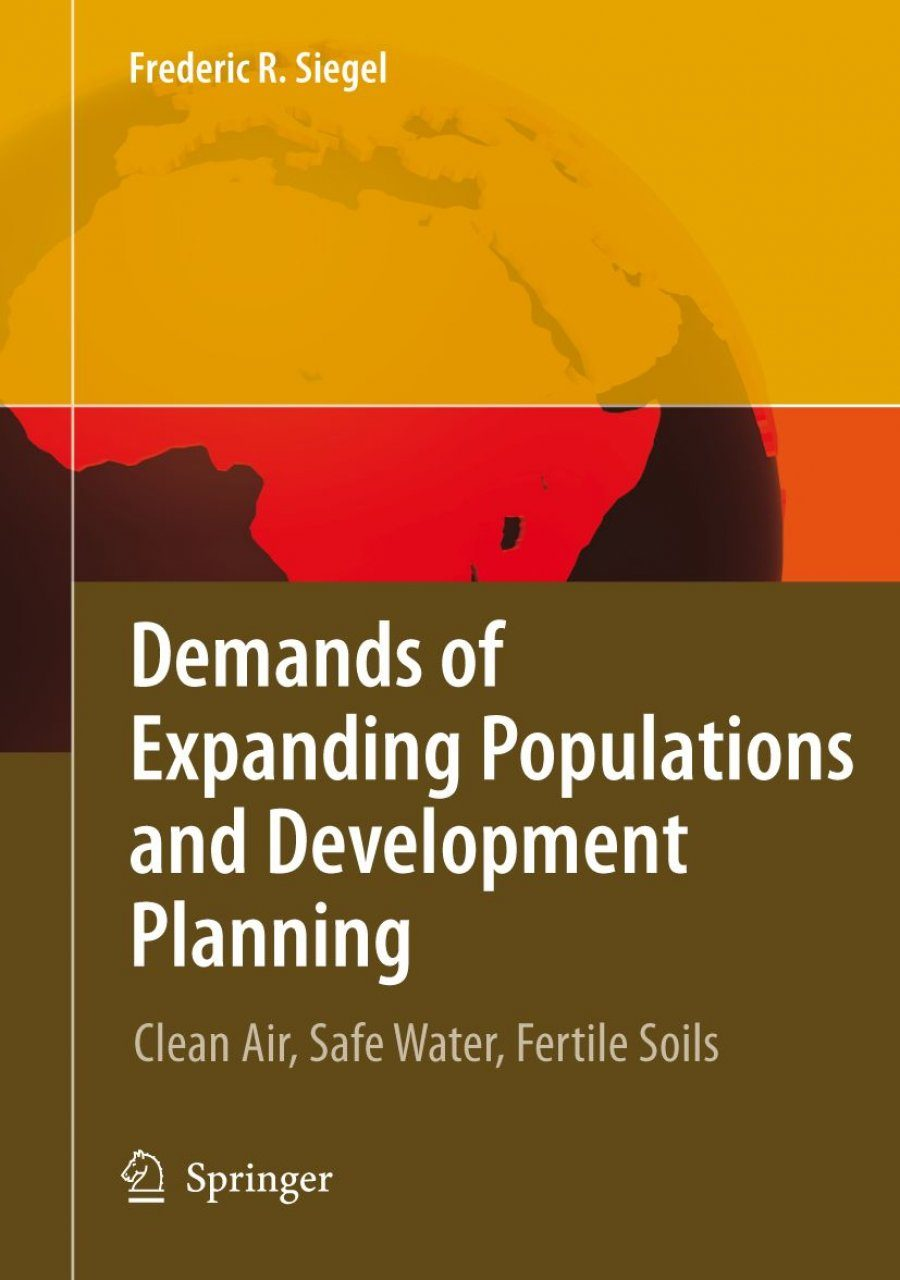 Demands of Expanding Populations and Development Planning