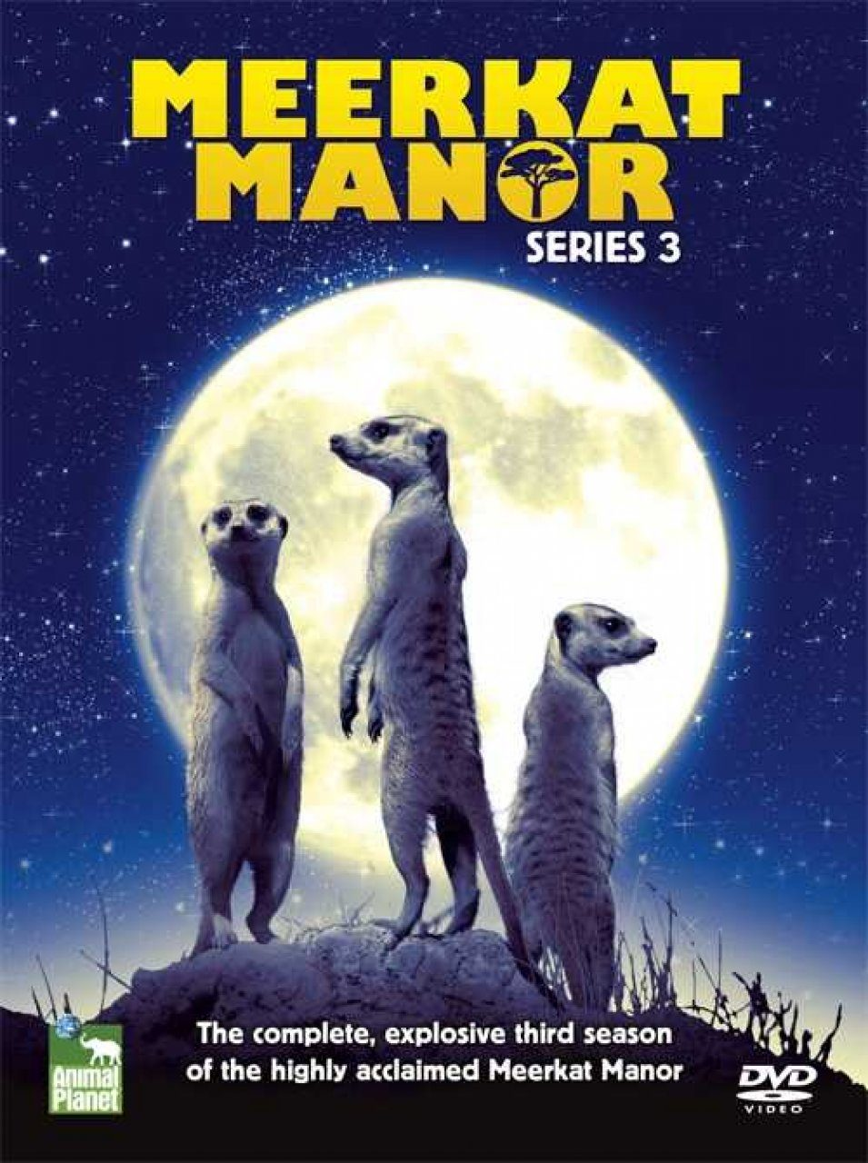Meerkat Manor - DVD: Series 3 (Region 2)
