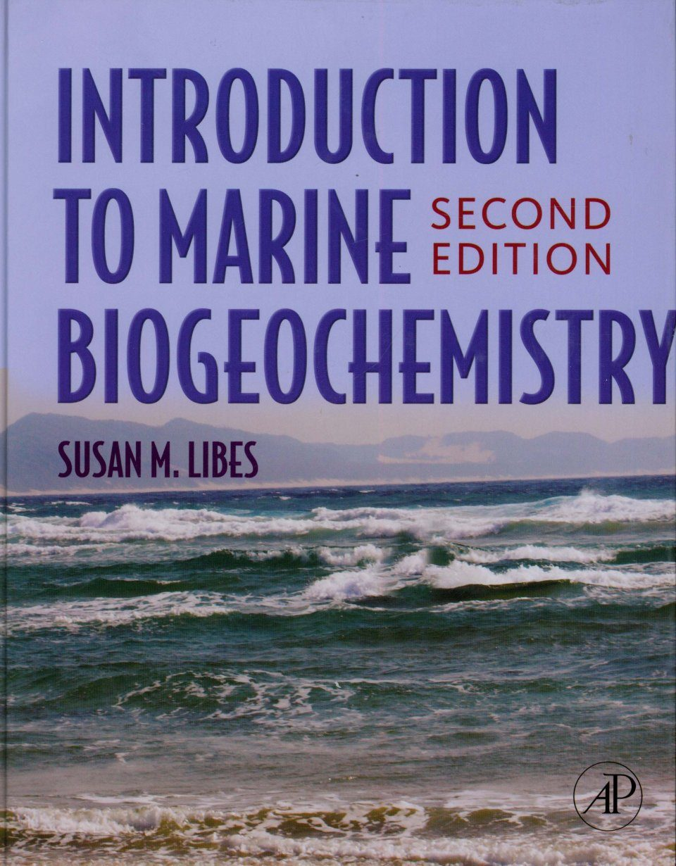 An Introduction to Marine Biogeochemistry