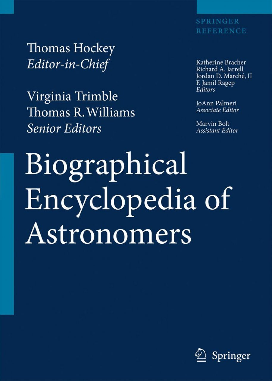 The Biographical Encyclopedia of Astronomers