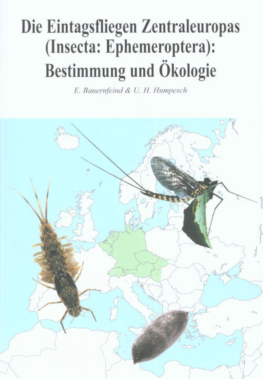 Die Eintagsfliegen Zentraleuropas (Insecta:Ephemeroptera): Bestimmung und Okologie [The Mayflies of Central Europe (Insecta: Ephemeroptera): Identification and Ecology]