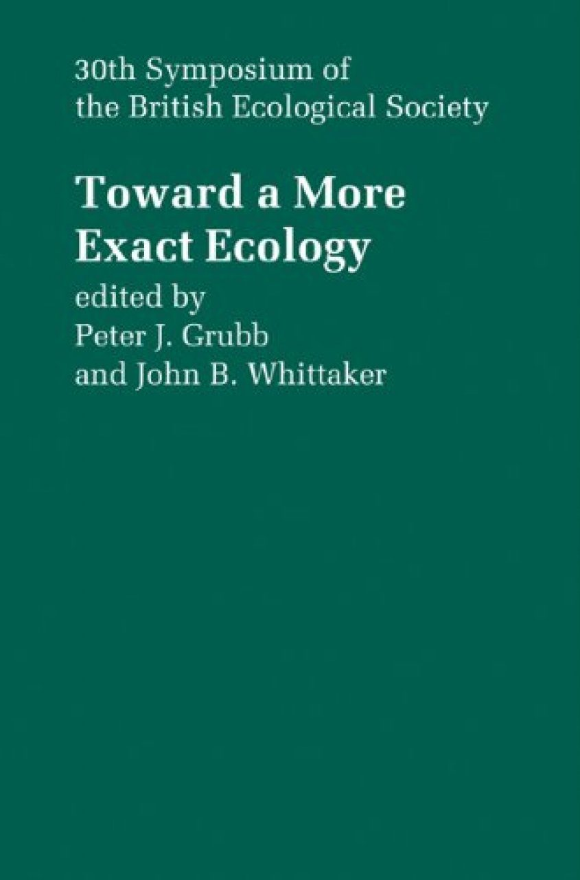 Toward a More Exact Ecology