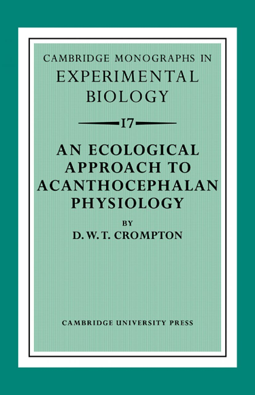 An Ecological Approach to Acanthocephalan Physiology