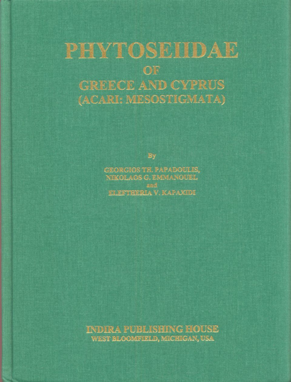 Phytoseiidae of Greece and Cyprus