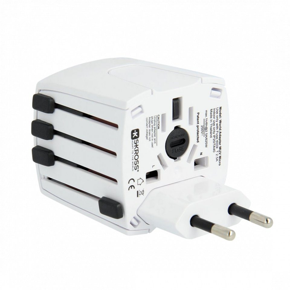 Lifeventure Universal Travel Adapter Plug