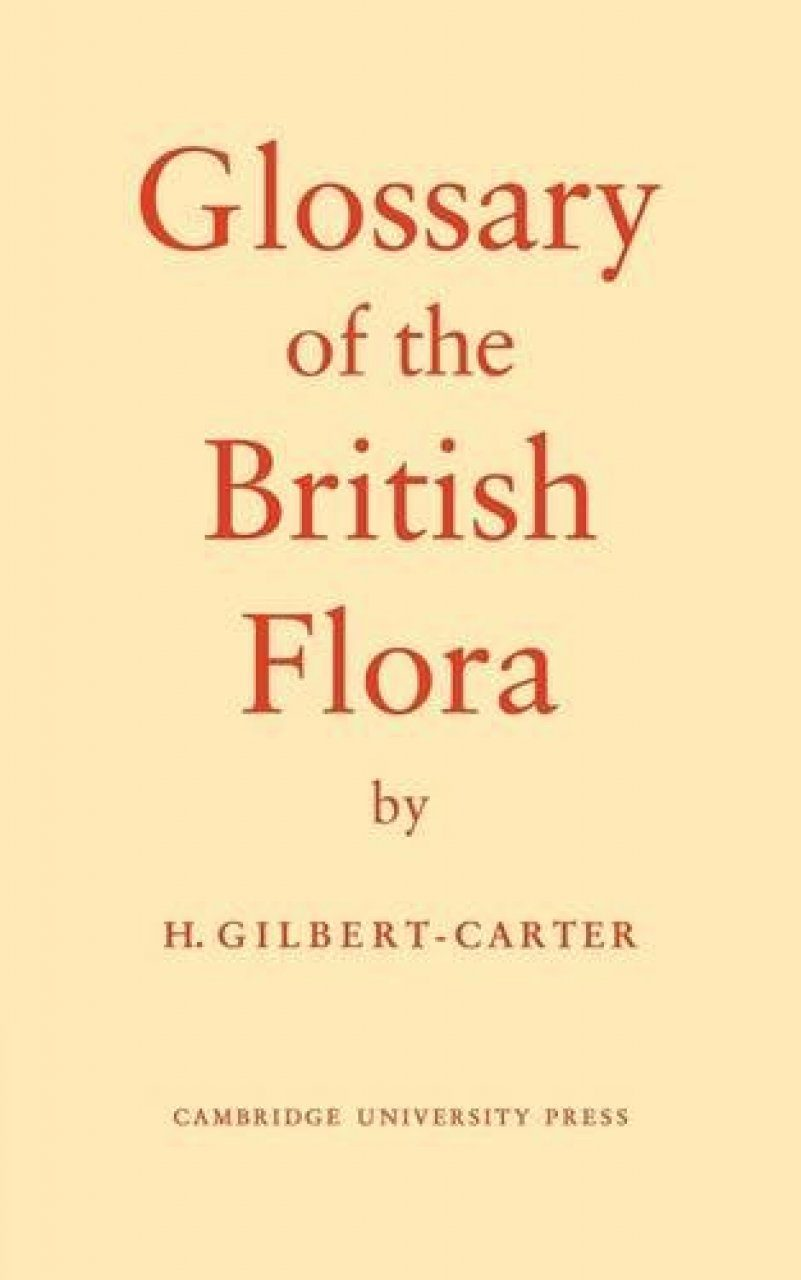 Glossary of the British Flora