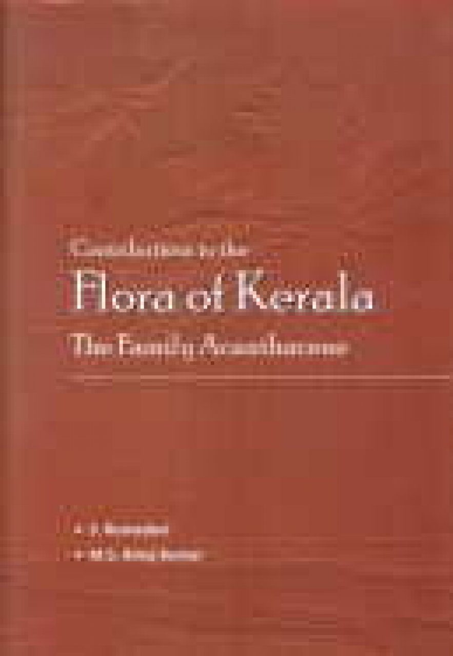 Contributions to the Flora of Kerala