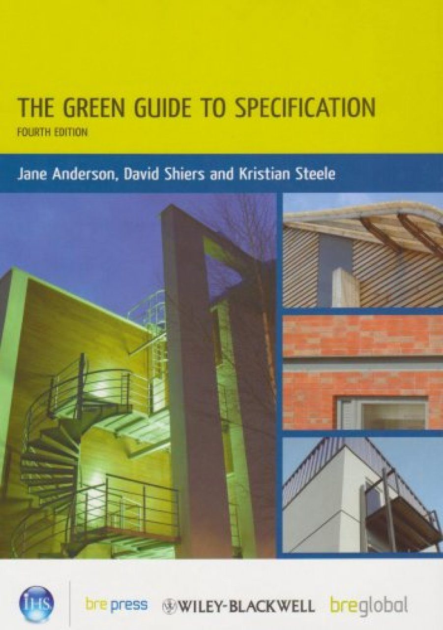 The Green Guide to Specifications