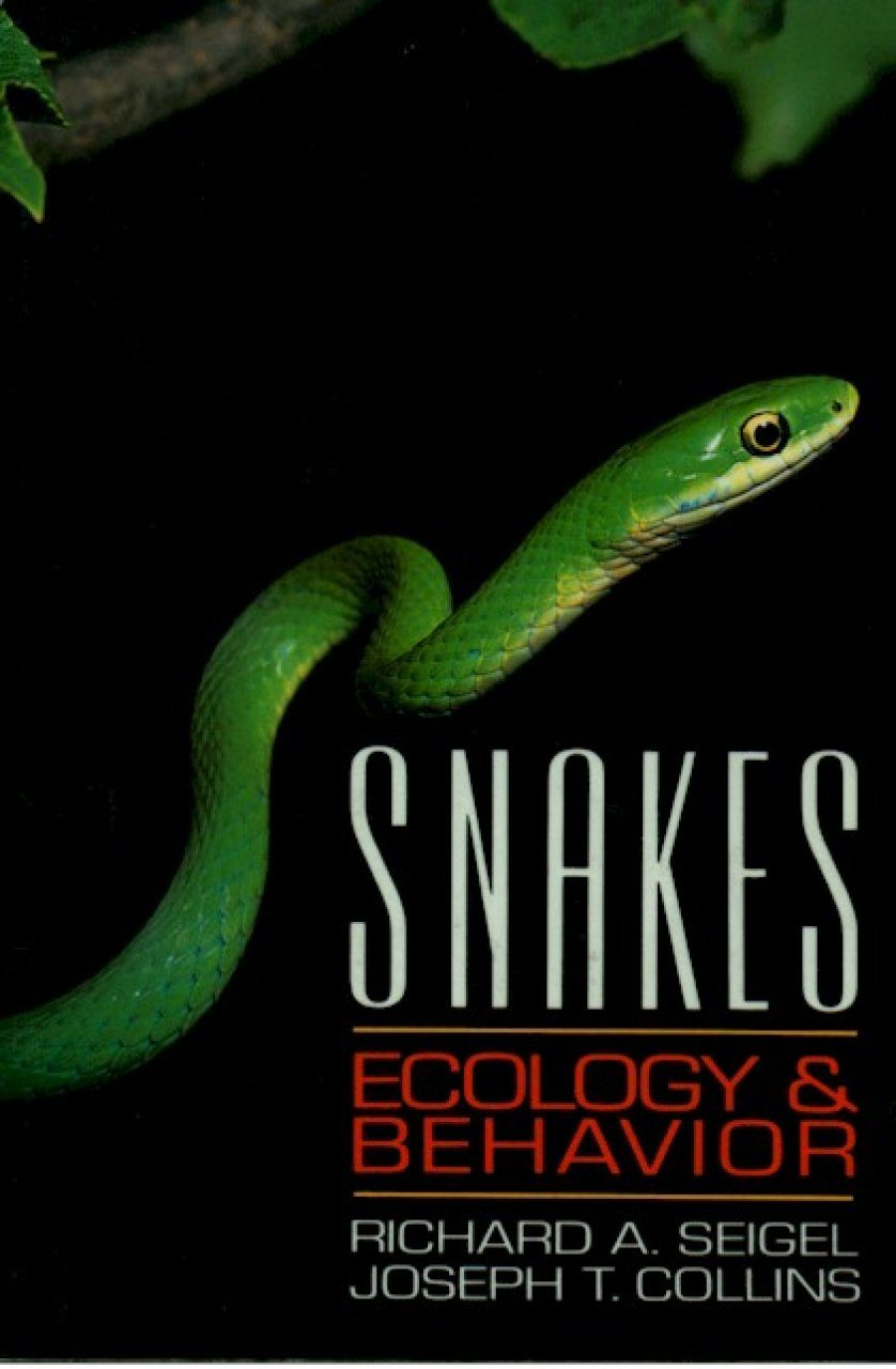 Snakes: Ecology and Behaviour