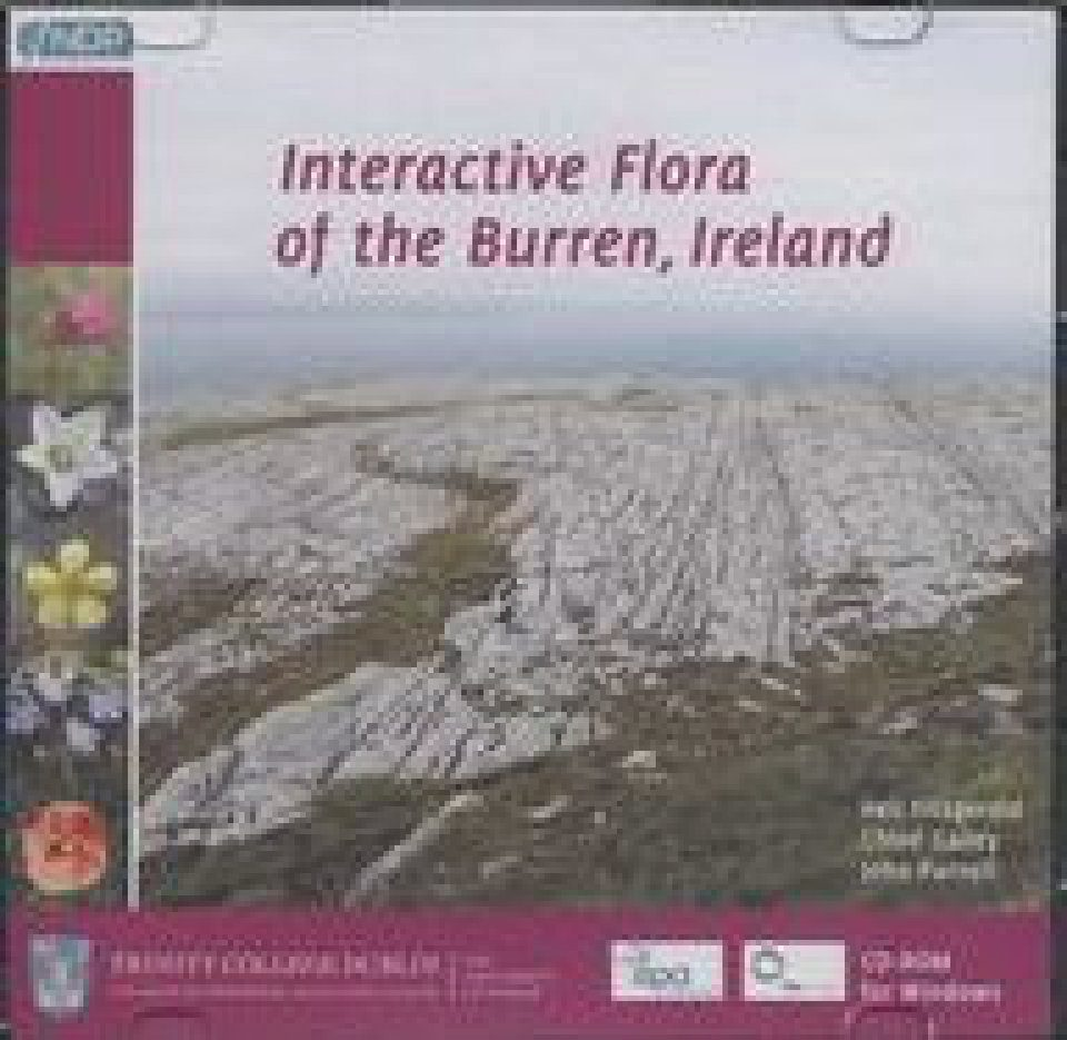 Interactive Flora of the Burren, Ireland CD-ROM