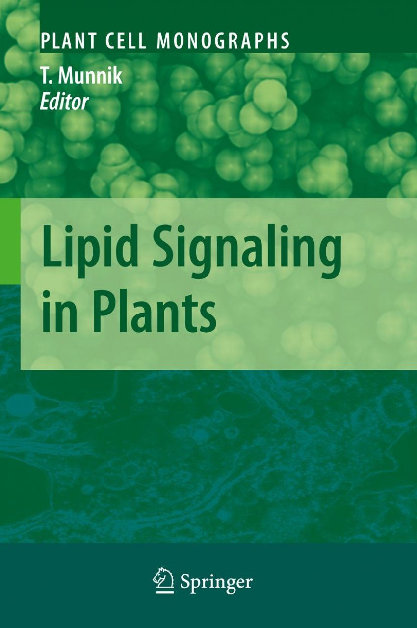 Lipid Signaling in Plants