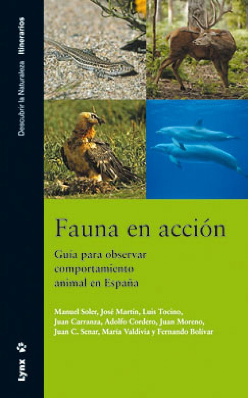 Fauna en Acción: Guía para Observar Comportamiento Animal en España [Fauna in Action: A Guide to Observing Animal Behaviour in Spain]
