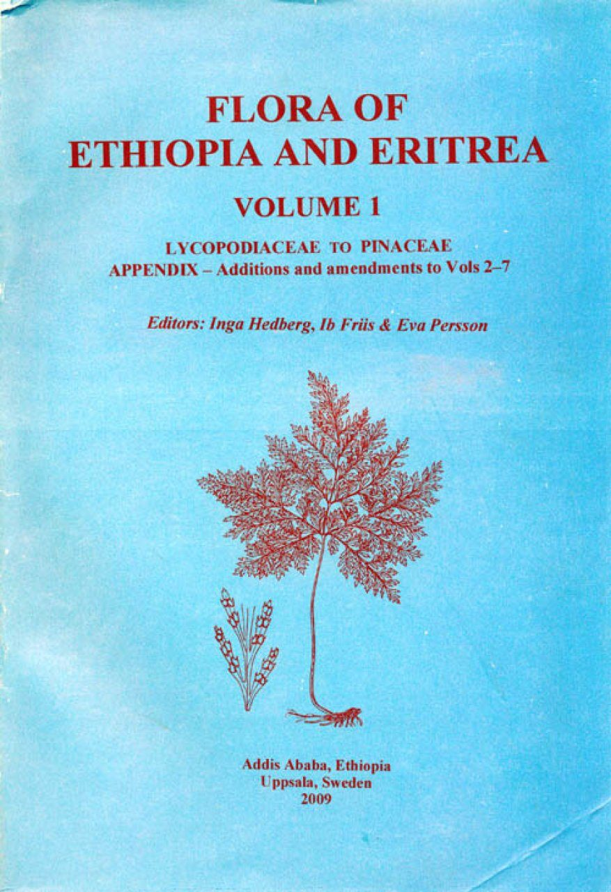 Flora of Ethiopia & Eritrea, Volume 1