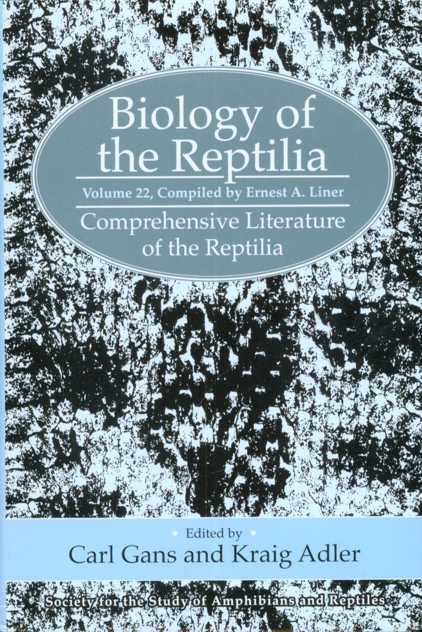 Biology of the Reptilia, Volume 22