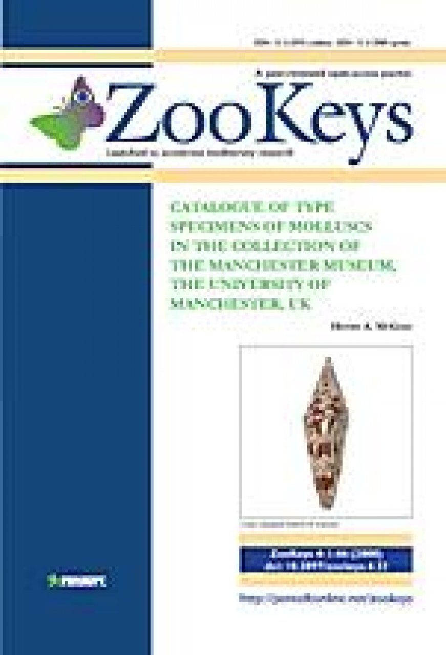 ZooKeys 4: Catalogue of type specimens of molluscs in the collection of The Manchester Museum, The University of Manchester, UK