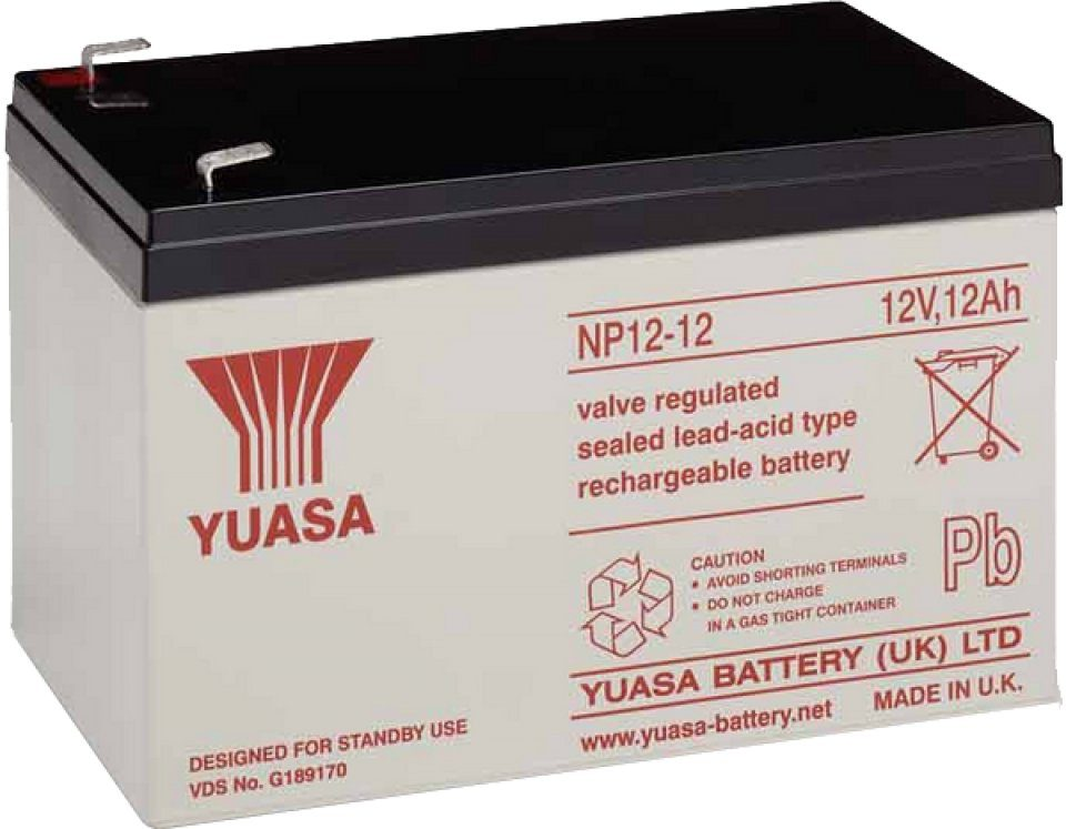 Rechargeable 12V 12Ah Sealed Battery