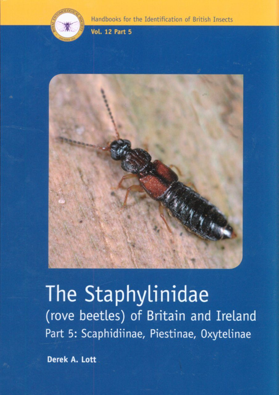 RES Handbook, Volume 12, Part 5: The Staphylinidae (Rove Beetles) of Britain and Ireland, Scaphidiinae, Piestinae, Oxytelinae