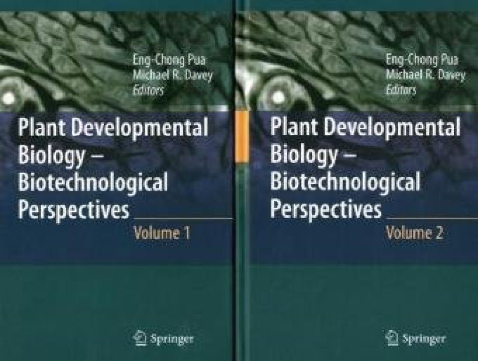 Plant Developmental Biology - Biotechnological Perspectives (2-Volume Set)