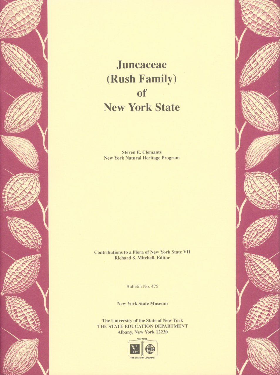 Juncaceae (Rush Family) of New York State
