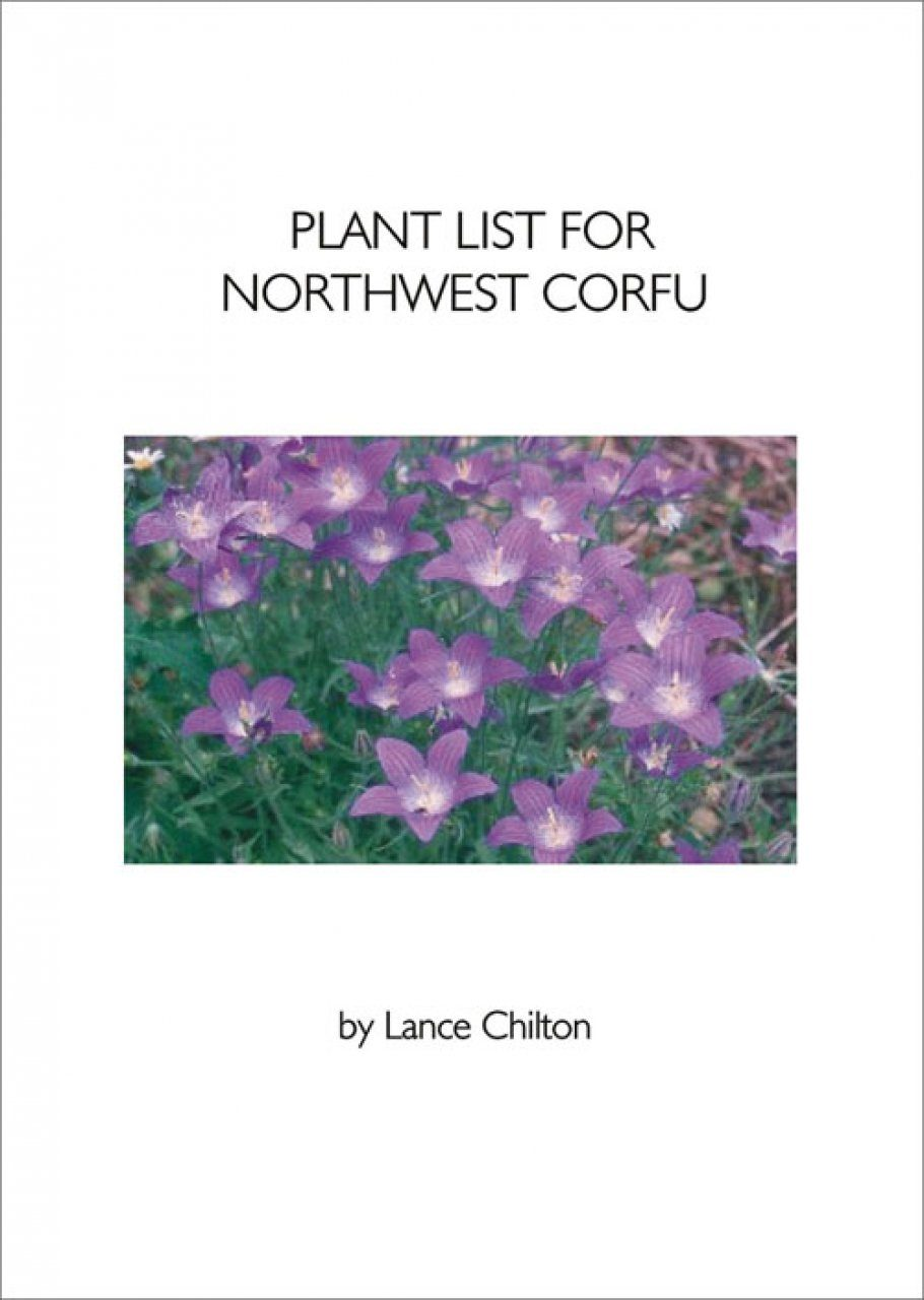 Plant List for Northwest Corfu