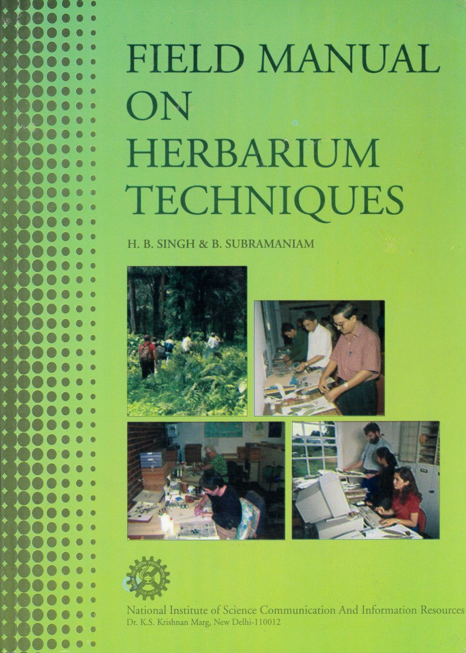 Field Manual on Herbarium Techniques