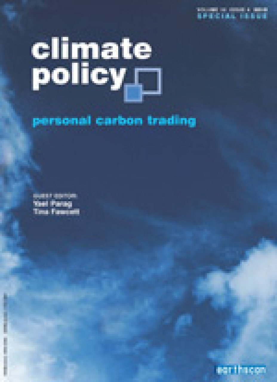 Personal Carbon Trading