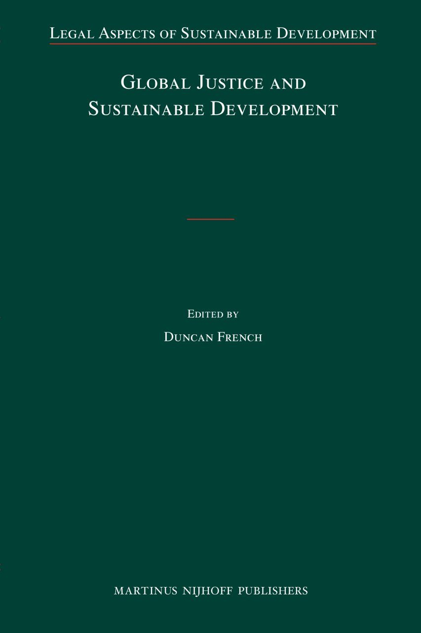 Global Justice and Sustainable Development