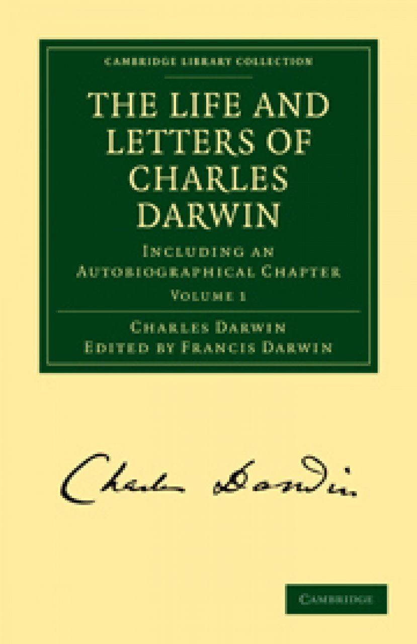 The Life and Letters of Charles Darwin (3-Volume Set)