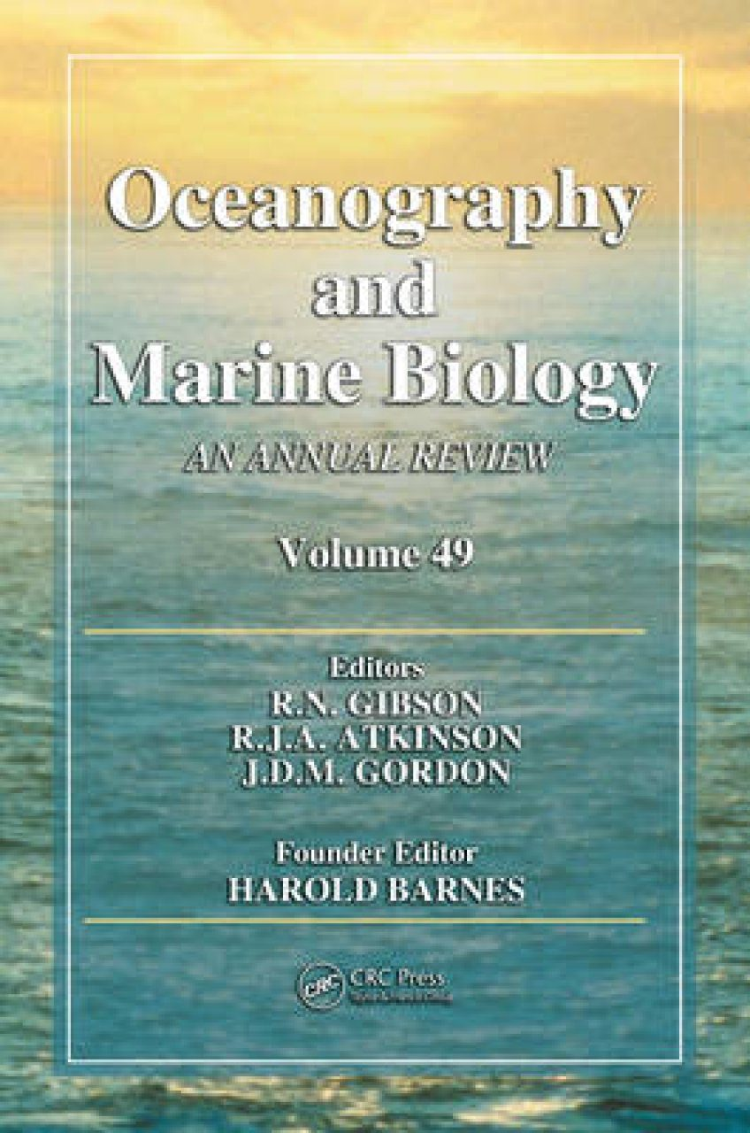 Oceanography and Marine Biology: An Annual Review: Volume 49