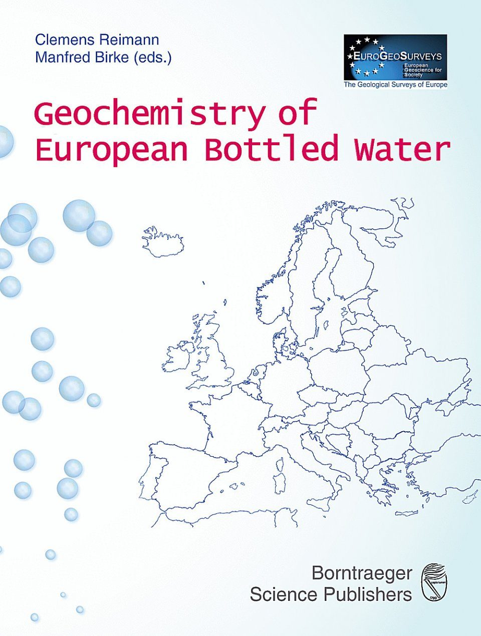 Geochemistry of European Bottled Water