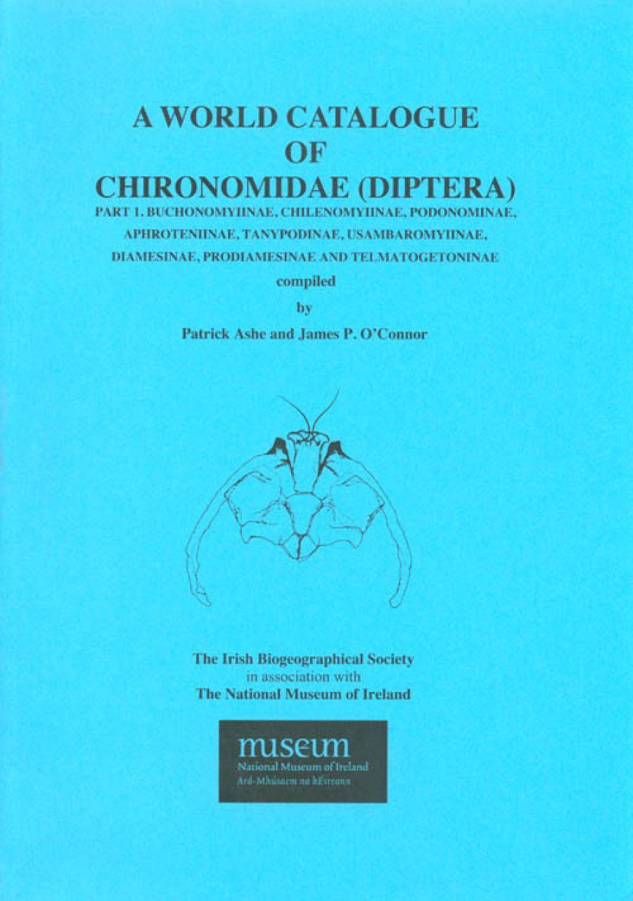 A World Catalogue of Chironomidae (Diptera), Part 1